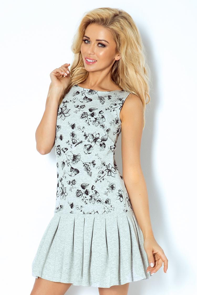 Květované dámské šaty