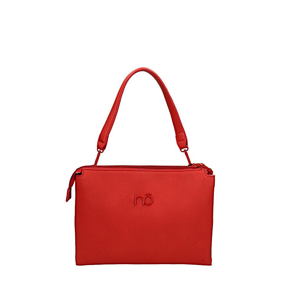 Malá dámská kabelka přes rameno - červená