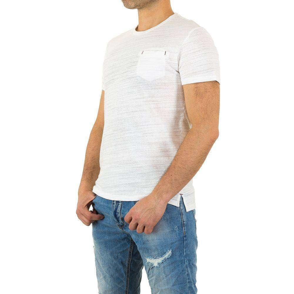 EU Pánská trička bílé