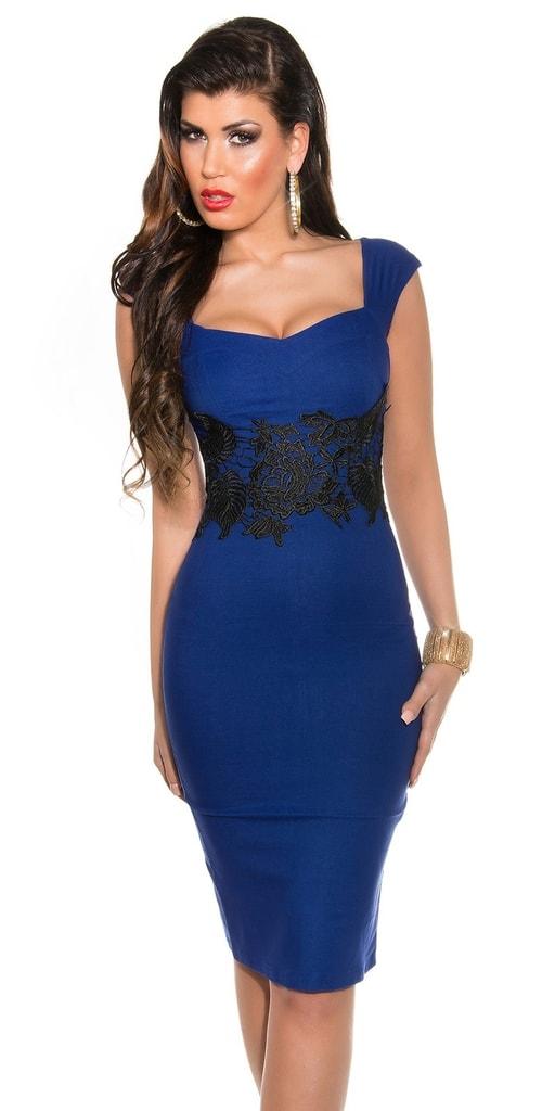 Koucla Večerní šaty modré