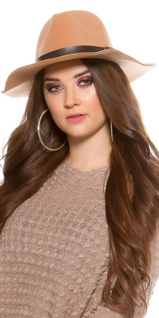 Koucla Dámský plstěný klobouk