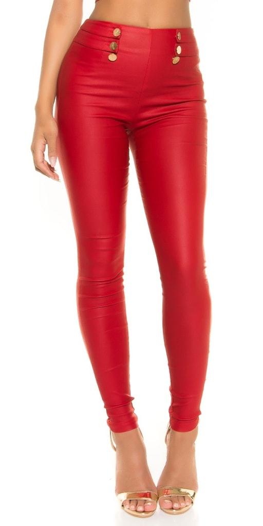 Koucla Červené sexy kalhoty