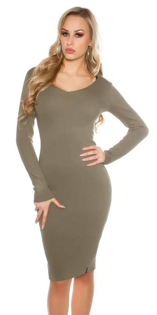 Koucla Pletené šaty