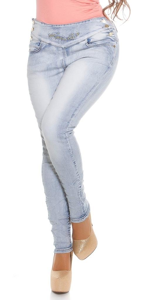 Koucla Skinny džíny Plus size