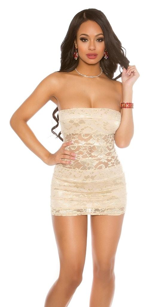 Koucla Sexy párty krajkové šaty