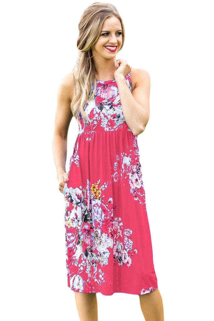 DAMSON Letní květované šaty