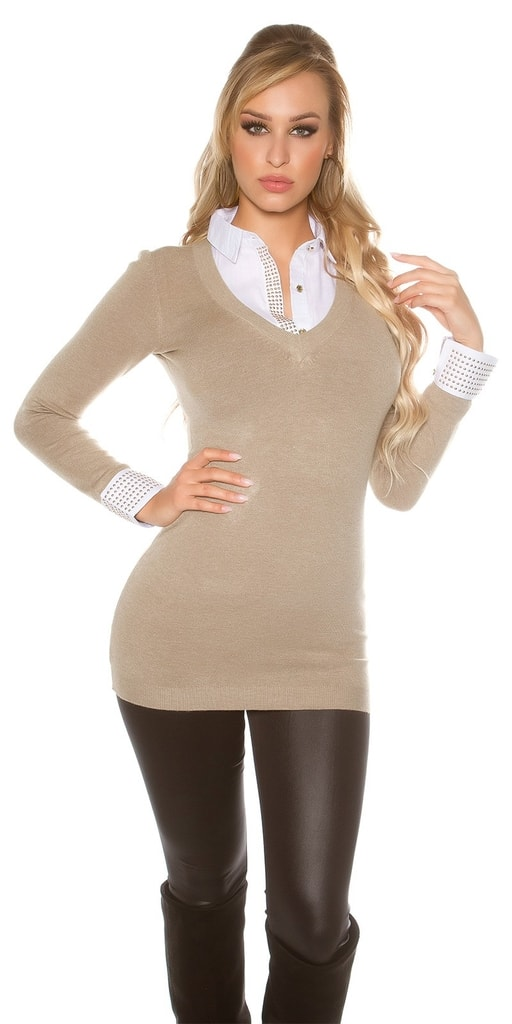 Koucla Elegantní dámské pulovry