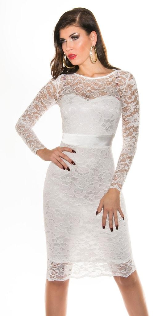 Koucla Dámské krajkové šaty