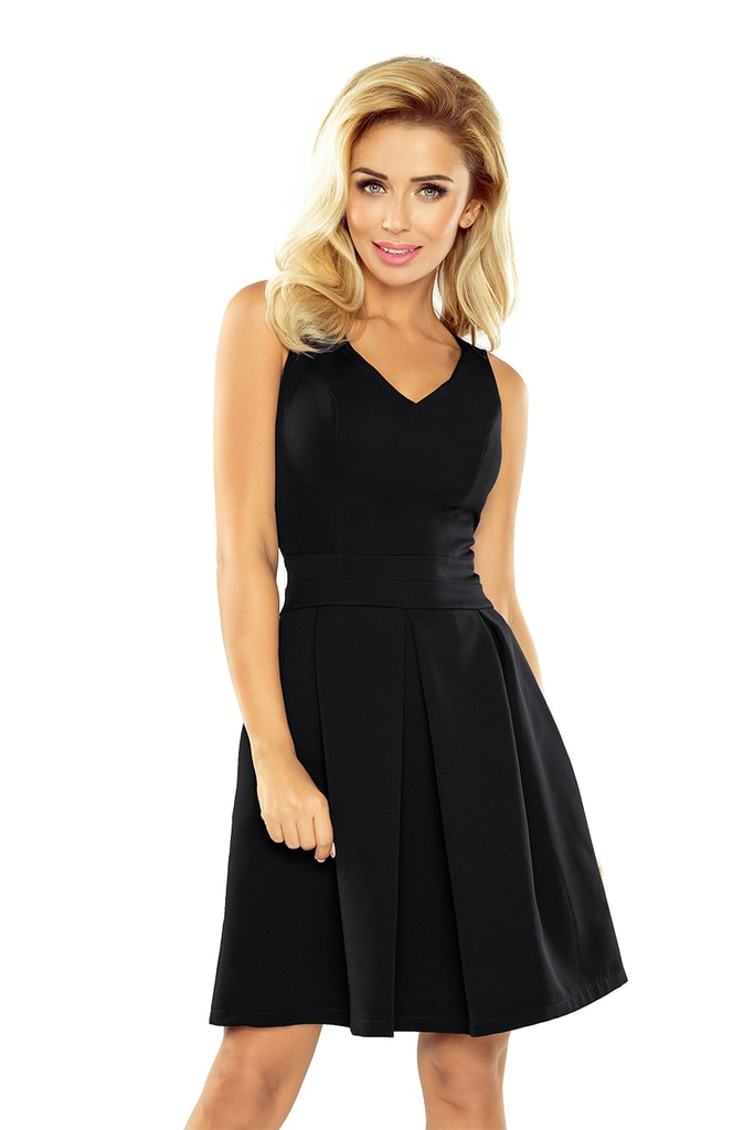 Numoco Dámské černé šaty