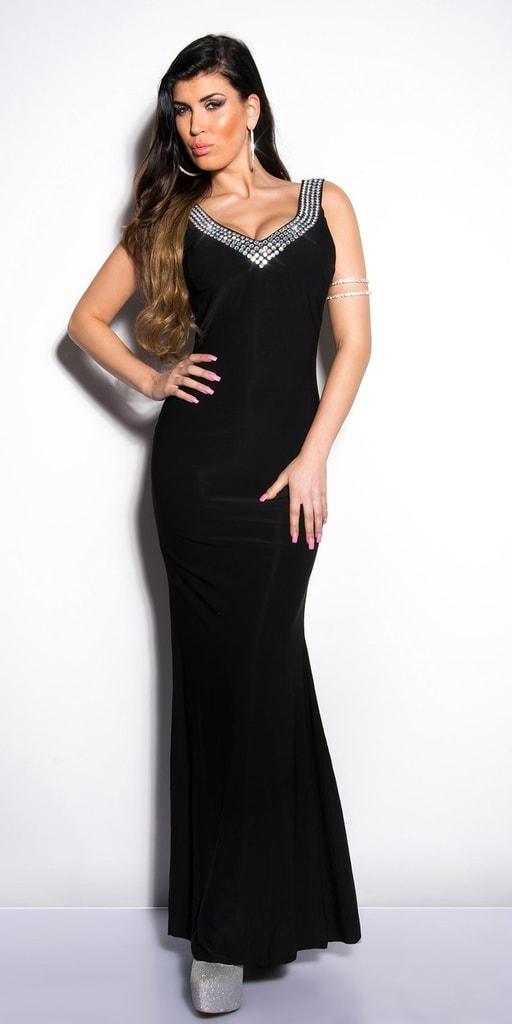 Koucla Černé plesové šaty - II. jakost