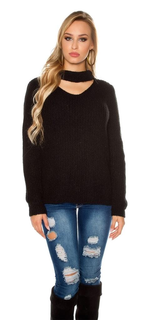 Koucla Mohérový svetr dámský