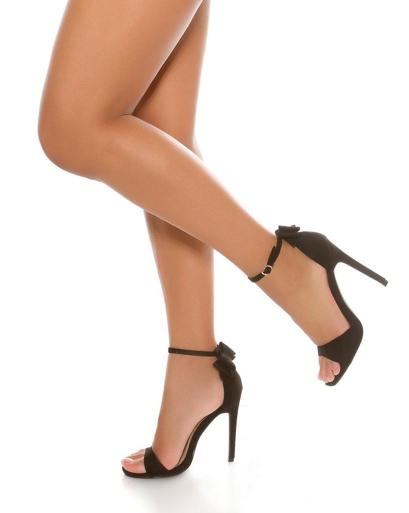 Koucla Dámské sandálky na podpatku