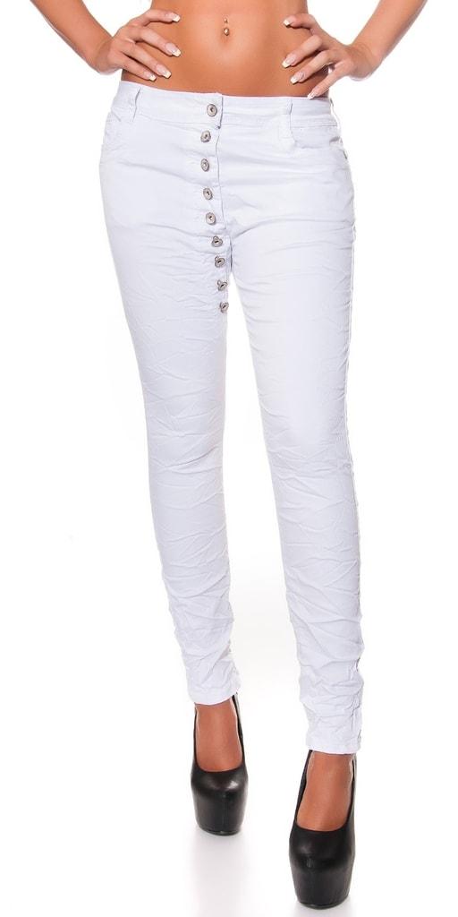 Koucla Bílé džíny dámské