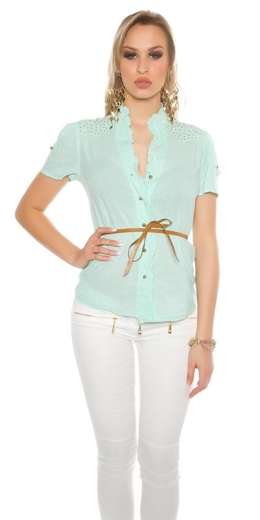 Koucla Dámská košile s páskem