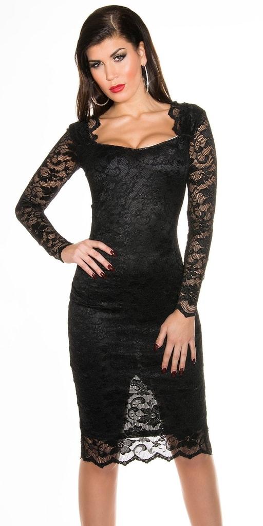 Koucla Společenské šaty - černé