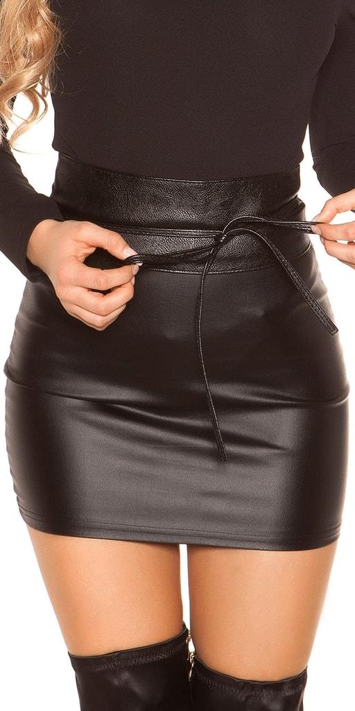 Koucla Dámský černý pásek