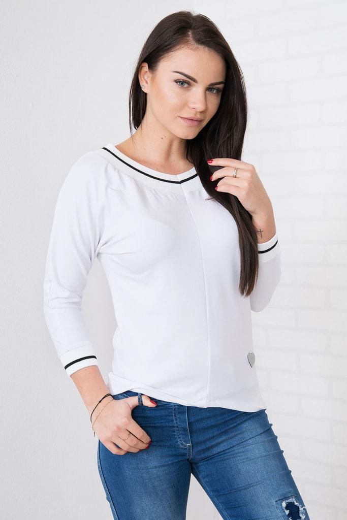 Kesi Dámské bílé tričko