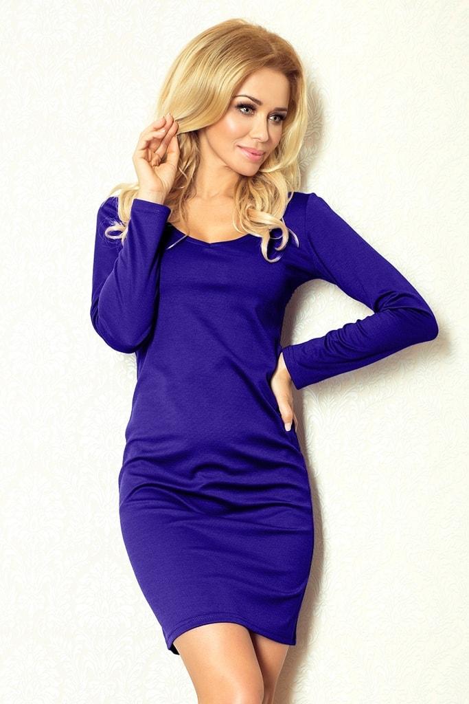 Numoco Modré dámské šaty 92-1