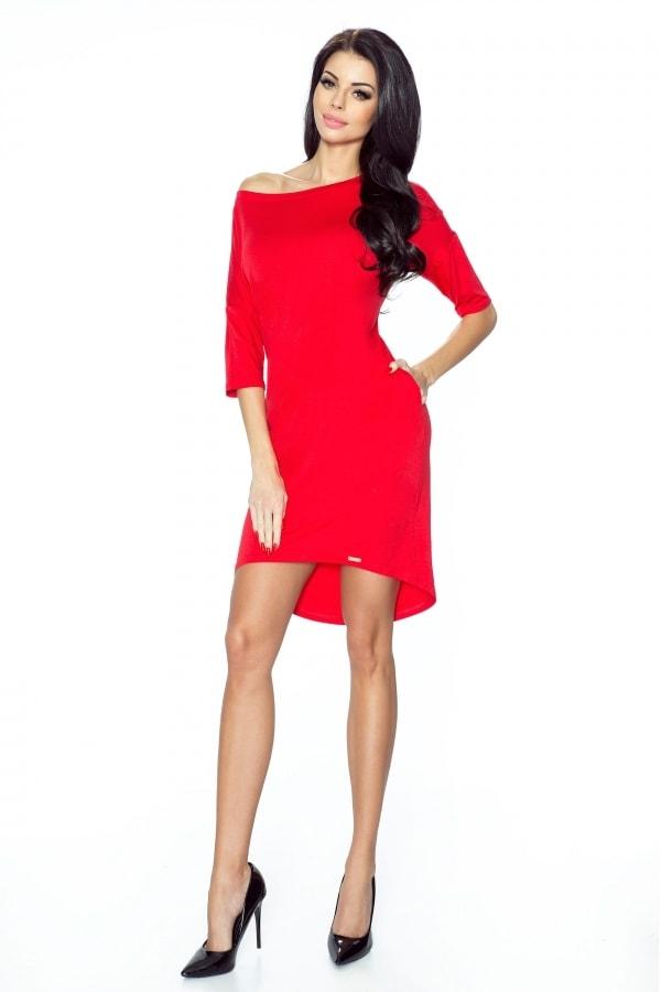 Bergamo Červené dámské šaty