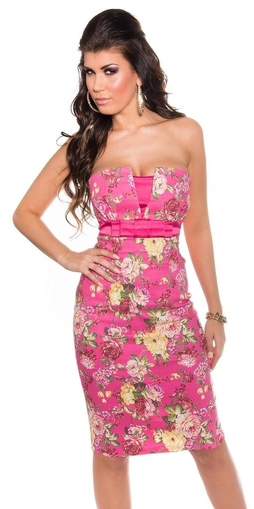 Koucla Květované šaty