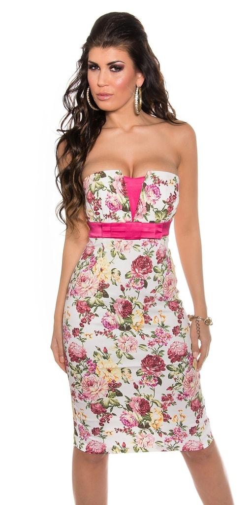 Koucla Elegantní letní šaty