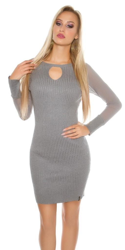 Koucla Úpletové dámské šaty