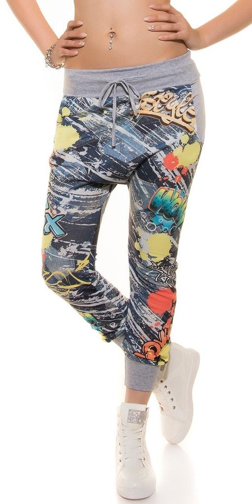 Koucla Harémové kalhoty