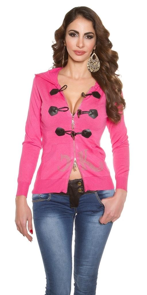 Koucla Propínací růžový svetr
