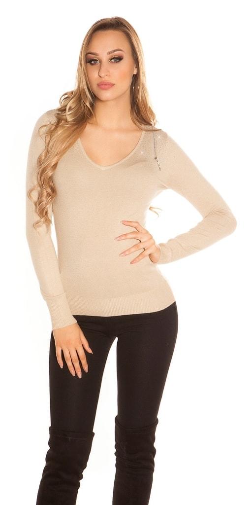 Koucla Elegantní dámský svetr