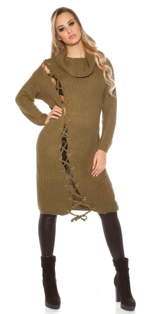 Koucla Dámský dlouhý svetr