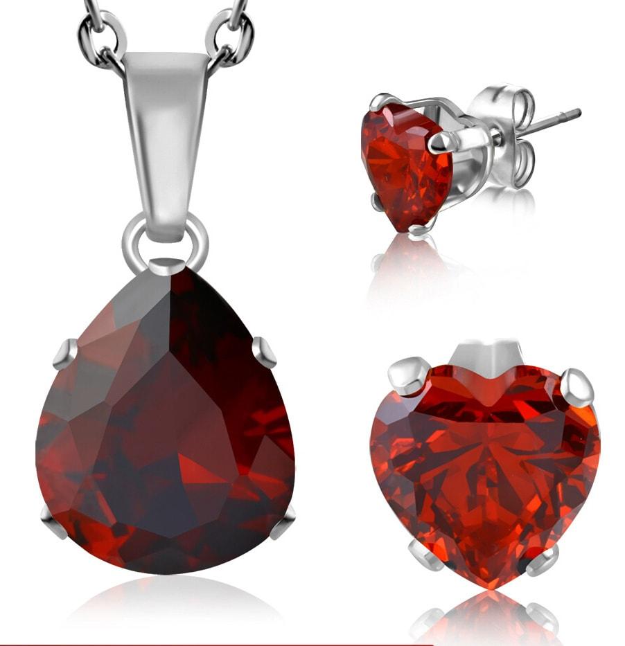 DAMSON Souprava šperků z chirurgické oceli