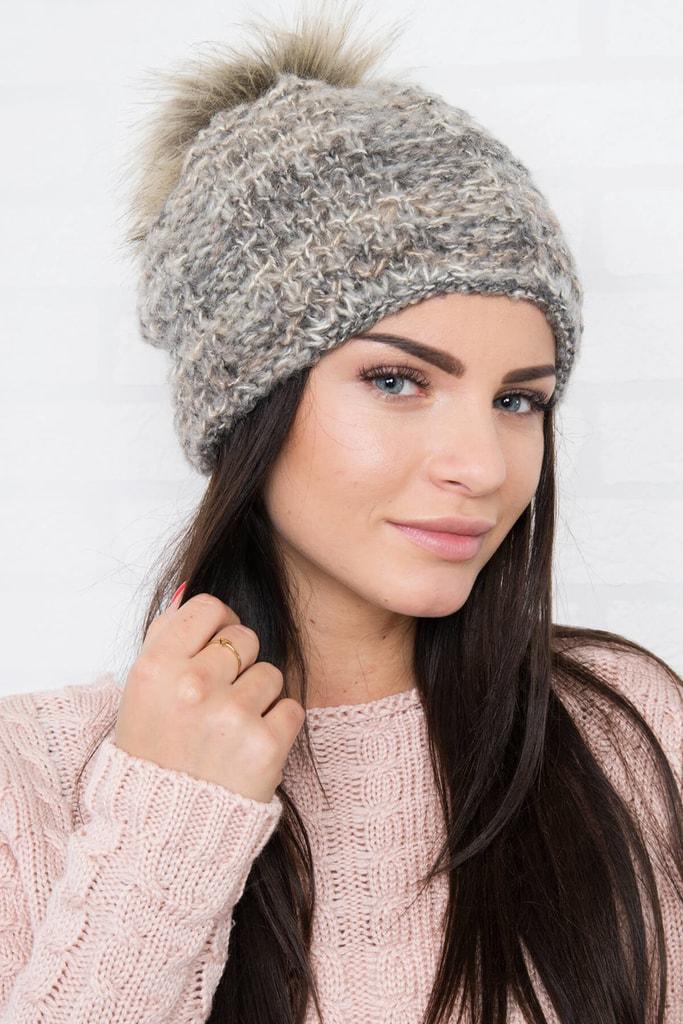 Kesi Pletená zimní čepice