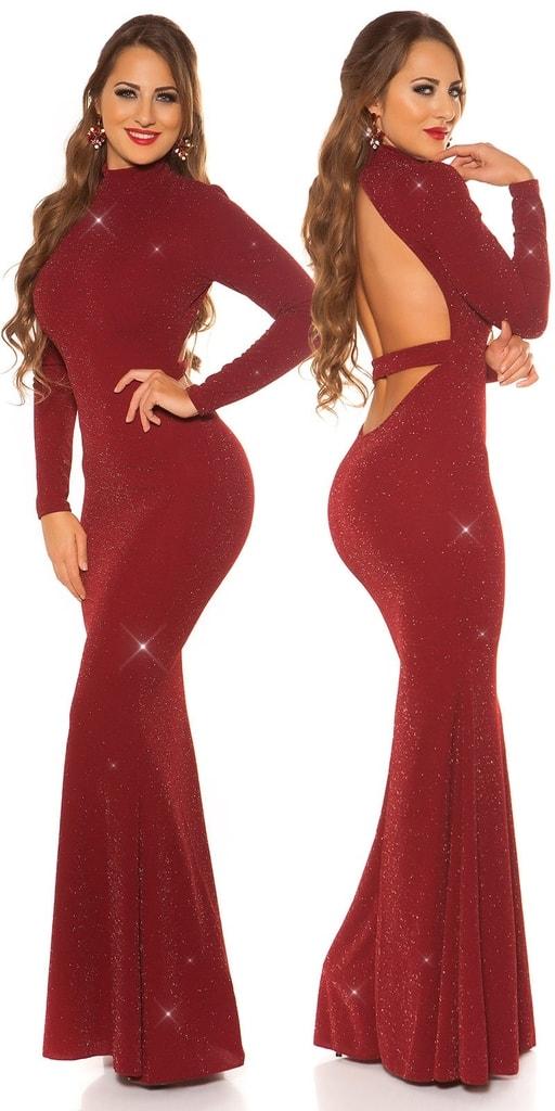 Koucla Plesové dlouhé šaty