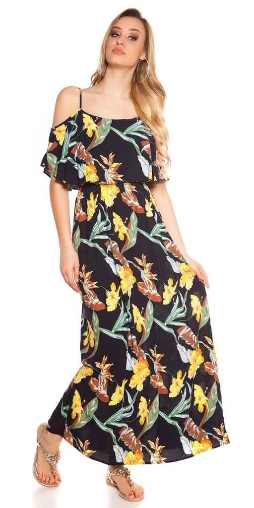 Koucla Dámské dlouhé šaty
