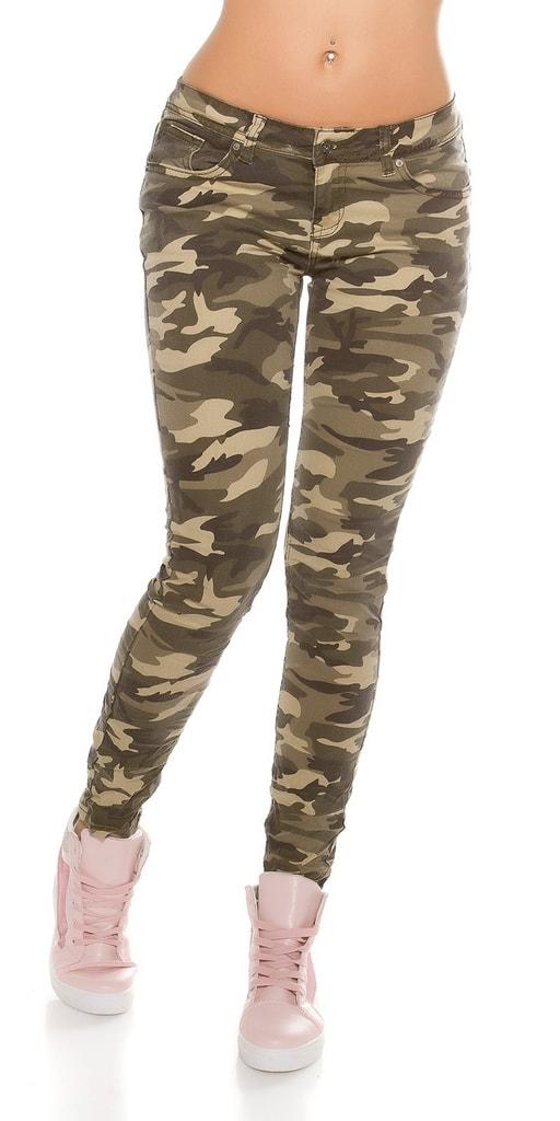 Koucla Trendy army džíny