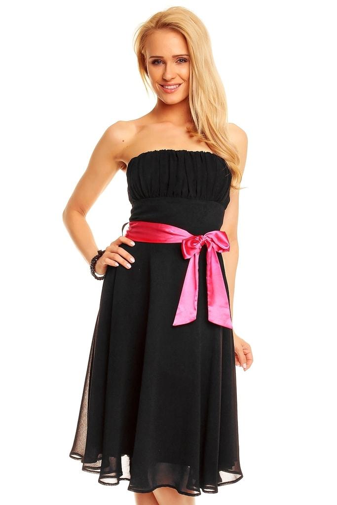 Mayaadi Společenské dámské šaty černé