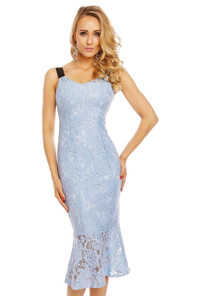 Mayaadi Dámské krajkové šaty