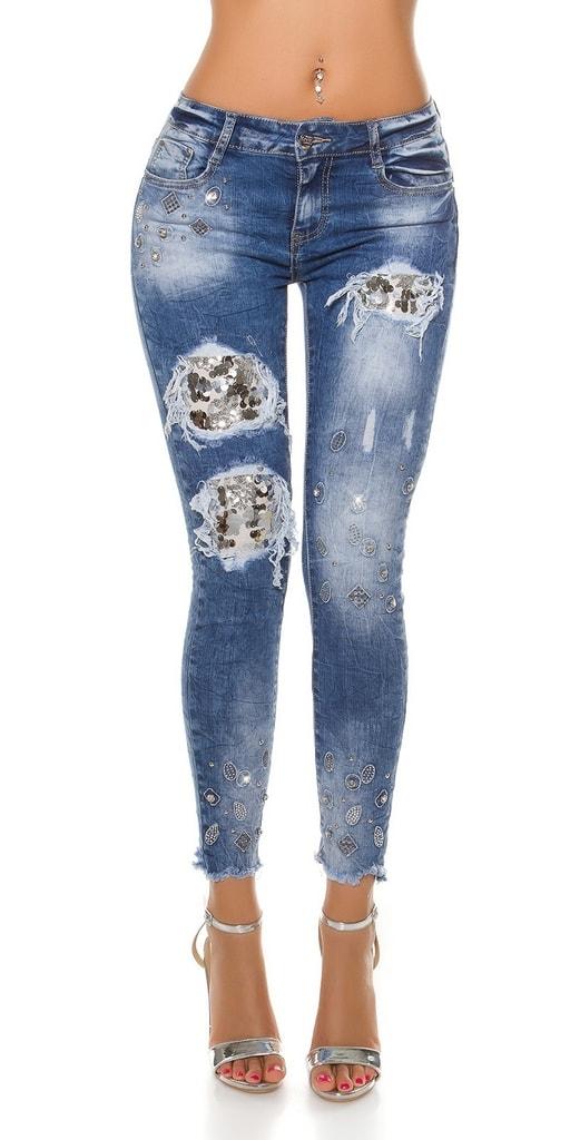 Koucla Moderní dámské džíny