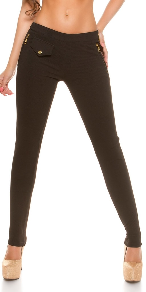 Koucla Elegantní dámské skinny kalhoty