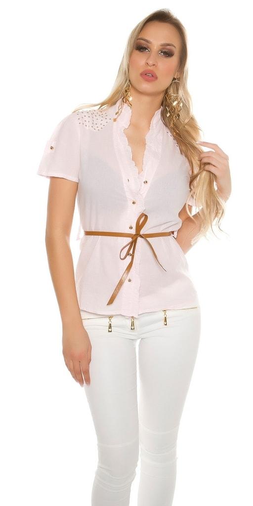 Koucla Dámská košile - krátký rukáv