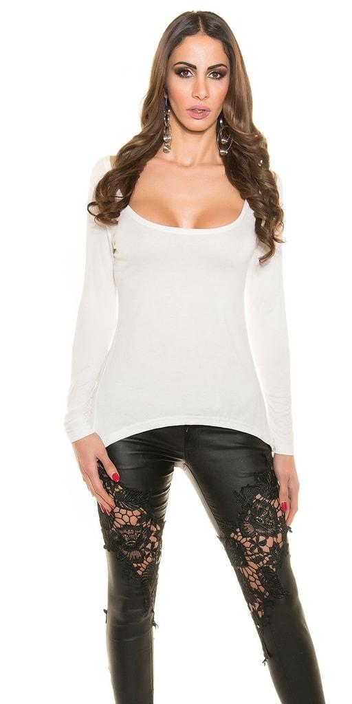 Koucla Bílé tričko dámské
