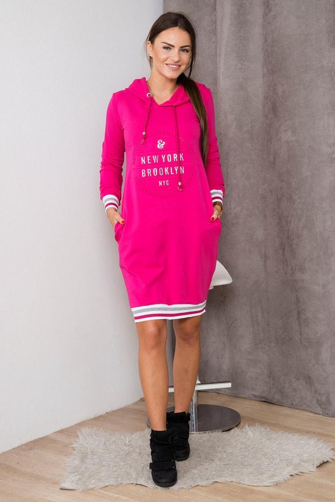 Kesi Volnočasové šaty s kapucí
