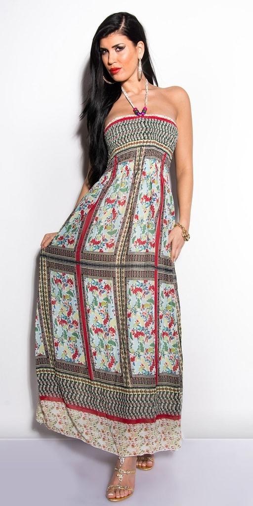 Koucla Letní dlouhé šaty