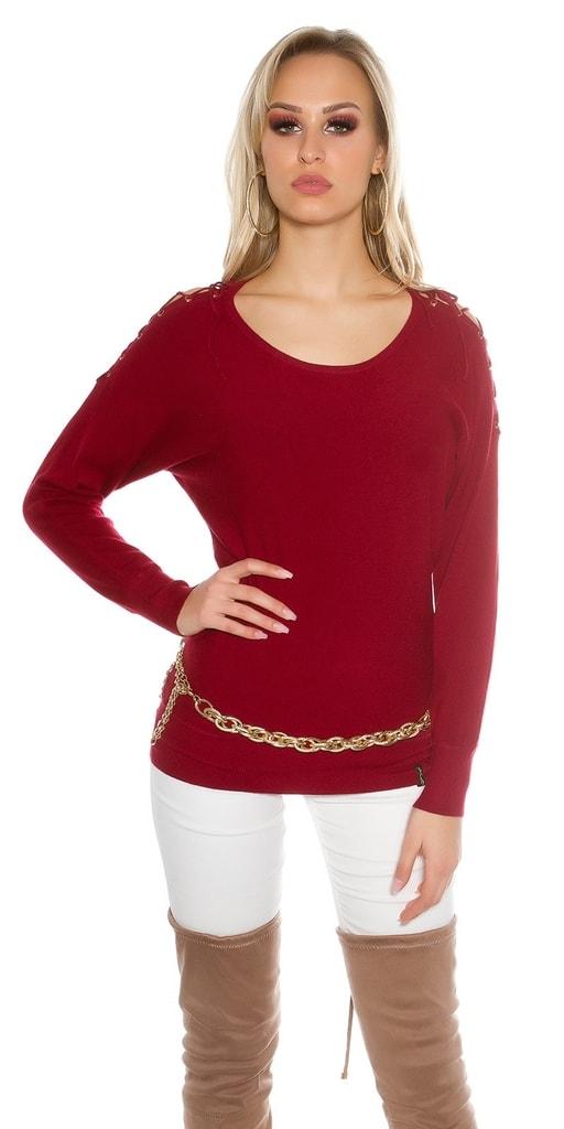 Koucla Krátké dámské svetry