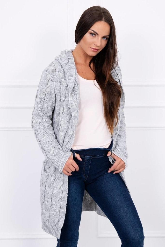 Kesi Dámský svetr s kapucí da828ac627