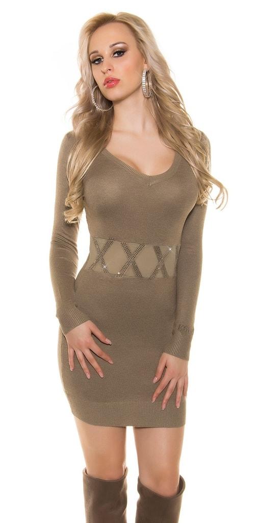 Koucla Dámské úpletové šaty