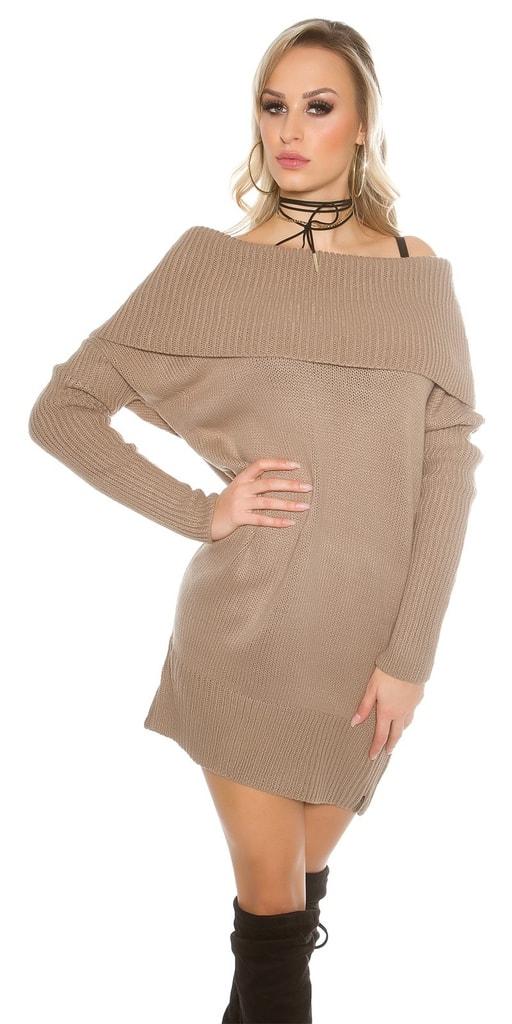 Koucla Dámské šaty pletené