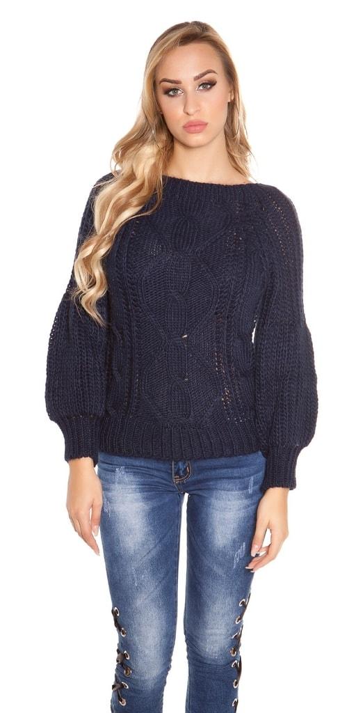 Koucla Pletený dámský svetr
