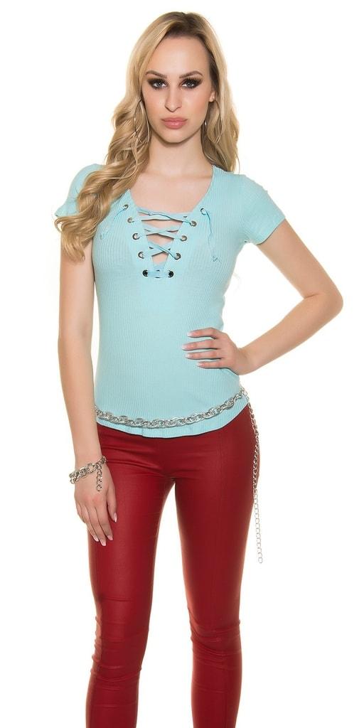 Koucla Modré tričko dámské