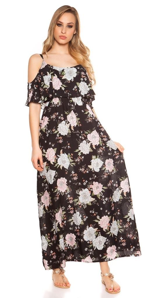 Koucla Letní květované šaty